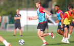 EVIAN-LES-BAINS, FRANCE - JULY 23: Stuart Armstrong as Southampton FC take part in their first day of their pre-season training camp, on July 23, 2018 in Evian-les-Bains, France. (Photo by Matt Watson/Southampton FC via Getty Images)