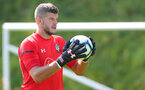 EVIAN-LES-BAINS, FRANCE - JULY 24: Fraser Forster during day 2 of Southampton FC's pre-season training camp on July 24, 2018 in Evian-les-Bains, France. (Photo by Matt Watson/Southampton FC via Getty Images)