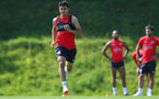 EVIAN-LES-BAINS, FRANCE - JULY 24: Mohamed Elyounoussi during day 2 of Southampton FC's pre-season training camp on July 24, 2018 in Evian-les-Bains, France. (Photo by Matt Watson/Southampton FC via Getty Images)