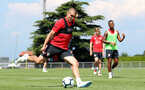 EVIAN-LES-BAINS, FRANCE - JULY 24: Oriol Romeu during day 2 of Southampton FC's pre-season training camp on July 24, 2018 in Evian-les-Bains, France. (Photo by Matt Watson/Southampton FC via Getty Images)