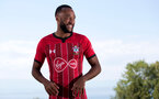 EVIAN-LES-BAINS, FRANCE - JULY 24: Nathan Redmond pictured in Southampton FC's third kit, during day 2 of Southampton FC's pre-season training camp on July 24, 2018 in Evian-les-Bains, France. (Photo by Matt Watson/Southampton FC via Getty Images)