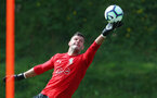 EVIAN-LES-BAINS, FRANCE - JULY 25: Fraser Forster during day 3 of Southampton FC's pre-season training camp, on July 25, 2018 in Evian-les-Bains, France. (Photo by Matt Watson/Southampton FC via Getty Images)