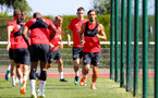 EVIAN-LES-BAINS, FRANCE - JULY 27: Manolo Gabbiadini during Southampton FC's pre season training camp, on July 27, 2018 in Evian-les-Bains, France. (Photo by Matt Watson/Southampton FC via Getty Images)