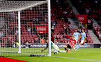 SOUTHAMPTON, ENGLAND - AUGUST 01: Stuart Armstrong of Southampton FC equalises during the pre-season friendly match between Southampton and Celta Vigo at St Mary's Stadium on August 1, 2018 in Southampton, England. (Photo by Matt Watson/Southampton FC via Getty Images)