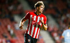SOUTHAMPTON, ENGLAND - AUGUST 01: Sam Gallagher during the Pre-Season friendly match between Southampton FC and Celta Vigo pictured at St Mary's Stadium on August 1, 2018 in Southampton, England. (Photo by James Bridle - Southampton FC/Southampton FC via Getty Images)