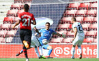 SOUTHAMPTON, ENGLAND - AUGUST 04: Alex McCarthy of Southampton saves during the pre-season friendly match between Southampton and Borussia Monchengladbach at St Mary's Stadium on August 4, 2018 in Southampton, England. (Photo by Matt Watson/Southampton FC via Getty Images)