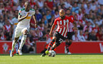 SOUTHAMPTON, ENGLAND - AUGUST 04: Nathan Redmond of Southampton during the pre-season friendly match between Southampton and Borussia Monchengladbach at St Mary's Stadium on August 4, 2018 in Southampton, England. (Photo by Matt Watson/Southampton FC via Getty Images)