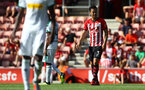 SOUTHAMPTON, ENGLAND - AUGUST 04: Maya Yoshida of Southampton during the pre-season friendly match between Southampton and Borussia Monchengladbach at St Mary's Stadium on August 4, 2018 in Southampton, England. (Photo by Matt Watson/Southampton FC via Getty Images)