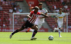 SOUTHAMPTON, ENGLAND - AUGUST 04: Mario Lemina of Southampton FC during the pre-season friendly match between Southampton and Borussia Monchengladbach at St Mary's Stadium on August 4, 2018 in Southampton, England. (Photo by Chris Moorhouse/Southampton FC via Getty Images)