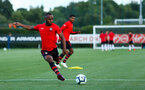 SOUTHAMPTON, ENGLAND - AUGUST 10: Tyreke Johnson ahead of the PL2 match between Southampton FC vs Middlesbrough FC pictured at Staplewood Complex on August 10, 2018 in Southampton, England. (Photo by James Bridle - Southampton FC/Southampton FC via Getty Images)