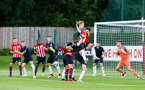 SOUTHAMPTON, ENGLAND - AUGUST 10: Alfie Jones (middle) during the PL2 match between Southampton FC vs Middlesbrough FC pictured at Staplewood Complex on August 10, 2018 in Southampton, England. (Photo by James Bridle - Southampton FC/Southampton FC via Getty Images)