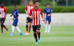 Sean Brennan during an U18 match between Southampton FC and Chelsea, at the Staplewood Campus, Southampton, 11th August 2018