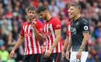 SOUTHAMPTON, ENGLAND - AUGUST 12: Jack Stephens(L) of Southampton during the Premier League match between Southampton FC and Burnley FC at St Mary's Stadium on August 12, 2018 in Southampton, United Kingdom. (Photo by Matt Watson/Southampton FC via Getty Images)