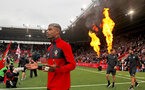 SOUTHAMPTON, ENGLAND - AUGUST 12: Mario Lemina of Southampton during the Premier League match between Southampton FC and Burnley FC at St Mary's Stadium on August 12, 2018 in Southampton, United Kingdom. (Photo by Matt Watson/Southampton FC via Getty Images)
