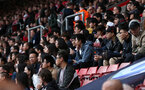 SOUTHAMPTON, ENGLAND - AUGUST 12: Chinese student at Southampton during the Premier League match between Southampton FC and Burnley FC at St Mary's Stadium on August 12, 2018 in Southampton, United Kingdom. (Photo by Chris Moorhouse/Southampton FC via Getty Images)