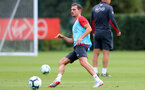 SOUTHAMPTON, ENGLAND - AUGUST 14: Cedric during a Southampton FC training session at the Staplewood Campus on August 14, 2018 in Southampton, England. (Photo by Matt Watson/Southampton FC via Getty Images)