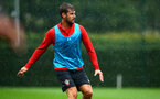 SOUTHAMPTON, ENGLAND - AUGUST 16: Jack Stephens during a Southampton FC training session at Staplewood Complex on August 16, 2018 in Southampton, England. (Photo by James Bridle - Southampton FC/Southampton FC via Getty Images)