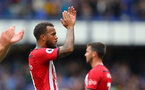 LIVERPOOL, ENGLAND - AUGUST 18: Ryan Bertrand of Southampton during the Premier League match between Everton FC and Southampton FC at Goodison Park on August 18, 2018 in Liverpool, United Kingdom. (Photo by Matt Watson/Southampton FC via Getty Images)