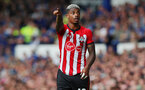 LIVERPOOL, ENGLAND - AUGUST 18: Mario Lemina of Southampton during the Premier League match between Everton FC and Southampton FC at Goodison Park on August 18, 2018 in Liverpool, United Kingdom. (Photo by Matt Watson/Southampton FC via Getty Images)