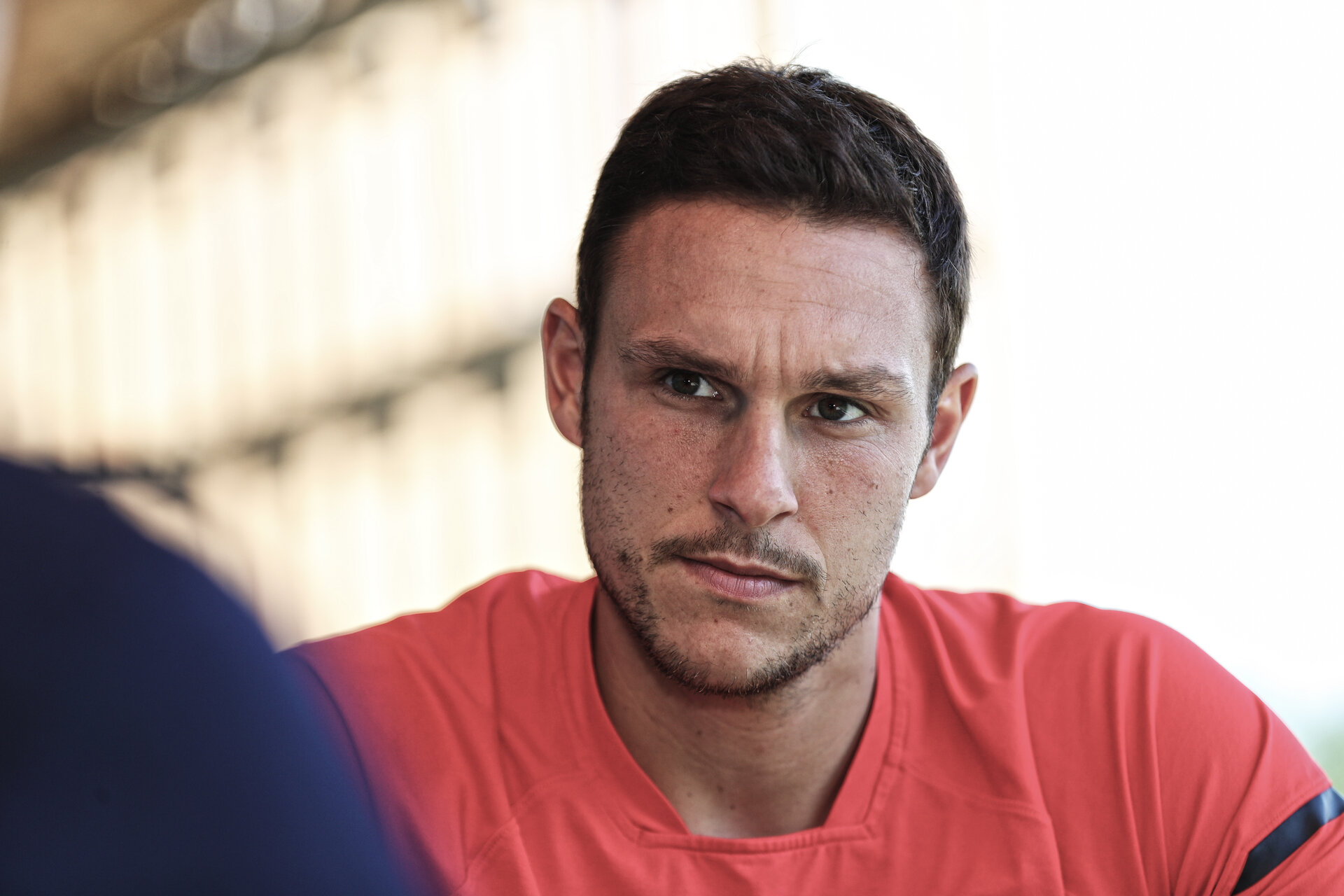 SOUTHAMPTON, ENGLAND - AUGUST 21: Alex McCarthy pictured during a club interview at the Staplewood Campus on August 21, 2018 in Southampton, England. (Photo by Matt Watson/Southampton FC via Getty Images)