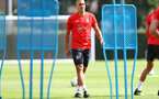 SOUTHAMPTON, ENGLAND - AUGUST 23: Oriol Romeu during a Southampton FC training session at the Staplewood Campus on August 23, 2018 in Southampton, England. (Photo by Matt Watson/Southampton FC via Getty Images)