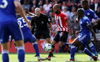 SOUTHAMPTON, ENGLAND - AUGUST 25: Nathan Redmond of Southampton during the Premier League match between Southampton FC and Leicester City at St Mary's Stadium on August 25, 2018 in Southampton, United Kingdom. (Photo by Chris Moorhouse/Southampton FC via Getty Images)