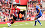 SOUTHAMPTON, ENGLAND - AUGUST 25: Cedric Soares of Southampton during the Premier League match between Southampton FC and Leicester City at St Mary's Stadium on August 25, 2018 in Southampton, United Kingdom. (Photo by Chris Moorhouse/Southampton FC via Getty Images)