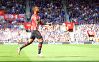 SOUTHAMPTON, ENGLAND - AUGUST 25: Ryan Bertrand of Southampton celebrates after scoring during the Premier League match between Southampton FC and Leicester City at St Mary's Stadium on August 25, 2018 in Southampton, United Kingdom. (Photo by Matt Watson/Southampton FC via Getty Images)