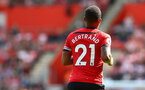 SOUTHAMPTON, ENGLAND - AUGUST 25: Ryan Bertrand of Southampton during the Premier League match between Southampton FC and Leicester City at St Mary's Stadium on August 25, 2018 in Southampton, United Kingdom. (Photo by Matt Watson/Southampton FC via Getty Images)