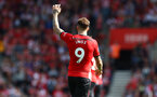 SOUTHAMPTON, ENGLAND - AUGUST 25: Danny Ings of Southampton during the Premier League match between Southampton FC and Leicester City at St Mary's Stadium on August 25, 2018 in Southampton, United Kingdom. (Photo by Matt Watson/Southampton FC via Getty Images)