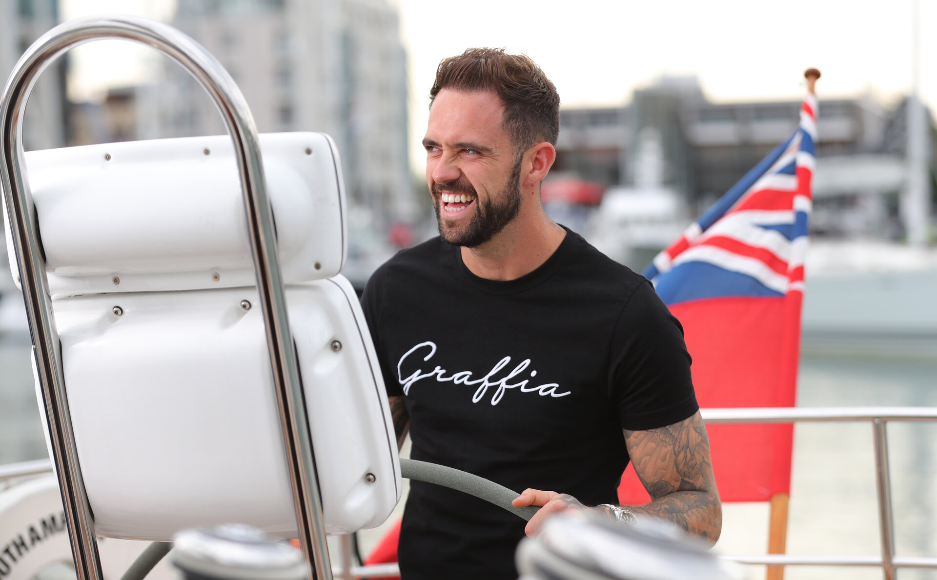 SOUTHAMPTON, ENGLAND - AUGUST 30: Danny Ings during a photoshoot for Southampton FC, on August 30, 2018 in Southampton, England. (Photo by Matt Watson/Southampton FC via Getty Images)