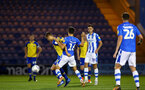 COLCHESTER, ENGLAND - SEPTEMBER 04: WIll Smallbone (left) during the Check a Trade Cup match between Colchester United vs Southampton FC at Jobserve Community Stadium on September 04, 2018 in Colchester, England. (Photo by James Bridle - Southampton FC/Southampton FC via Getty Images)