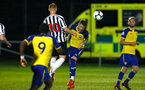 NEWCASTLE, ENGLAND - SEPTEMBER 14: Callum Slattery (middle) during the U23's PL2 match between Newcastle United and Southampton FC pictured at Northumberland County FA ground on September 14, 2018 in Southampton, England. (Photo by James Bridle - Southampton FC/Southampton FC via Getty Images)