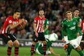 Saints held after letting two-goal lead slip
