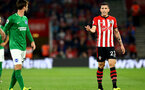 SOUTHAMPTON, ENGLAND - SEPTEMBER 17: Pierre-Emile H¿jbjerg (right) of Southampton FC  during the Premier League match between Southampton FC and Brighton & Hove Albion at St Mary's Stadium on September 17, 2018 in Southampton, United Kingdom. (Photo by James Bridle - Southampton FC/Southampton FC via Getty Images) SOUTHAMPTON, ENGLAND - SEPTEMBER 17: Pierre-Emile Højbjerg (right) of Southampton FC  during the Premier League match between Southampton FC and Brighton & Hove Albion at St Mary's Stadium on September 17, 2018 in Southampton, United Kingdom. (Photo by James Bridle - Southampton FC/Southampton FC via Getty Images)