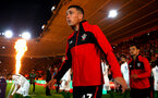 SOUTHAMPTON, ENGLAND - SEPTEMBER 17: Pierre-Emile H¿jbjerg ahead of Kick off for the Premier League match between Southampton FC and Brighton & Hove Albion at St Mary's Stadium on September 17, 2018 in Southampton, United Kingdom. (Photo by James Bridle - Southampton FC/Southampton FC via Getty Images) SOUTHAMPTON, ENGLAND - SEPTEMBER 17: Pierre-Emile Højbjerg ahead of Kick off for the Premier League match between Southampton FC and Brighton & Hove Albion at St Mary's Stadium on September 17, 2018 in Southampton, United Kingdom. (Photo by James Bridle - Southampton FC/Southampton FC via Getty Images)