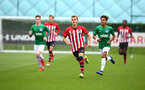 SOUTHAMPTON, ENGLAND - SEPTEMBER 22: during the U18 Premier League match between Southampton FC and Brighton Hove Albion at Staplewood Training Ground on September 22, 2018 in Southampton, United Kingdom. (Photo by James Bridle - Southampton FC/Southampton FC via Getty Images)