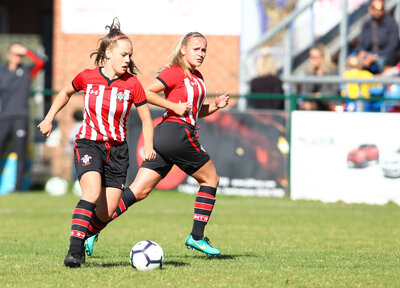 Saints' women keep perfect start going