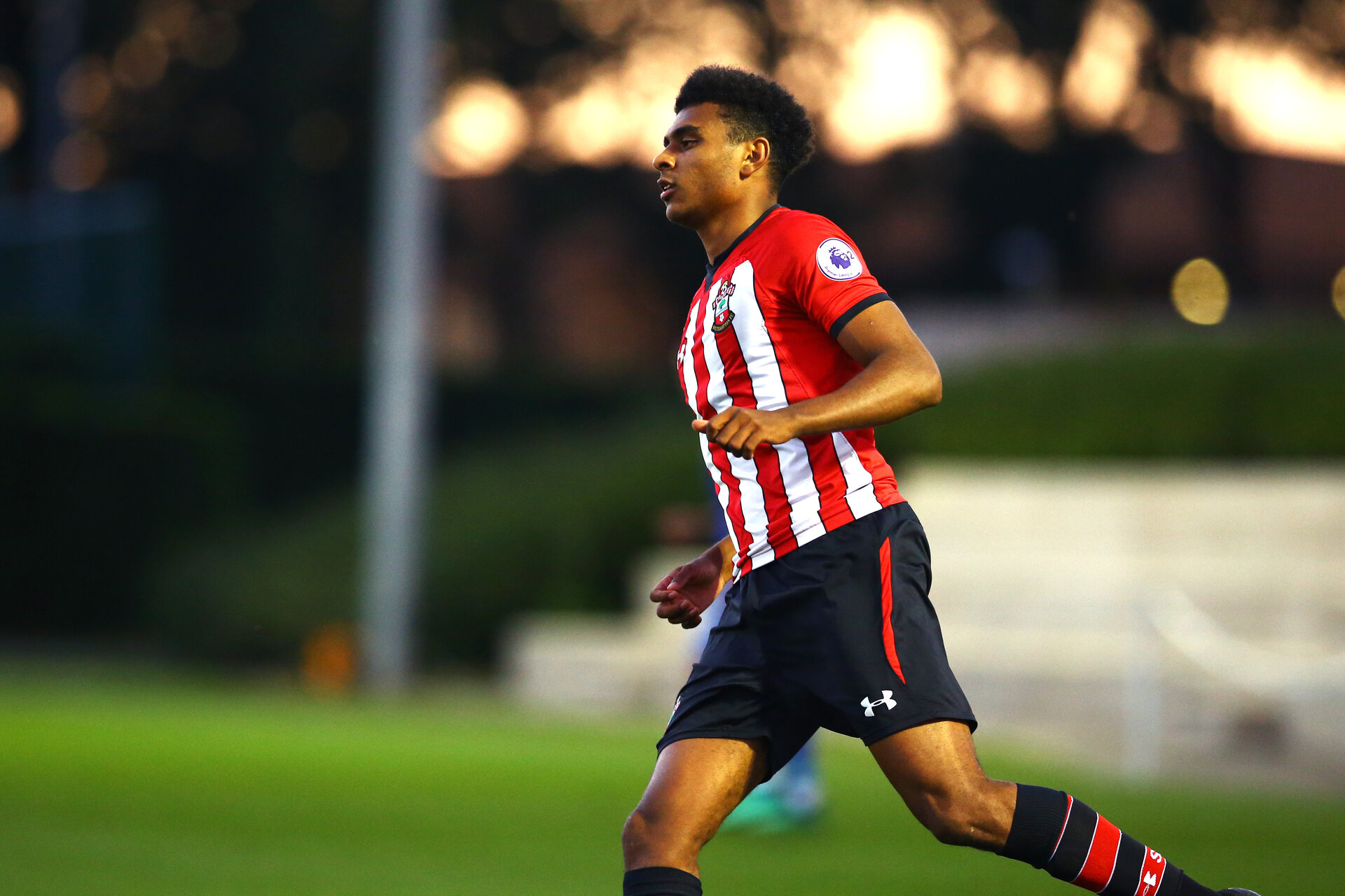 SOUTHAMPTON, ENGLAND - SEPTEMBER 26: Marcus Barnes during the International Cup where Southampton FC play FC Porto pictured at Southampton training session at Staplewood Complex on September 26, 2018 in Southampton, England. (Photo by James Bridle - Southampton FC/Southampton FC via Getty Images)