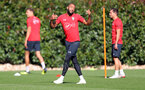 SOUTHAMPTON, ENGLAND - SEPTEMBER 27: Nathan Redmond during a Southampton FC training session at the Staplewood Campus on September 27, 2018 in Southampton, England. (Photo by Matt Watson/Southampton FC via Getty Images)