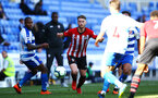 SOUTHAMPTON, ENGLAND - SEPTEMBER 29: Callum Slattery (middle) during a PL2 U23s match where Reading FC play Southampton FC at Madjeski Stadium on September 29, 2018 in Reading, England. (Photo by James Bridle - Southampton FC/Southampton FC via Getty Images)