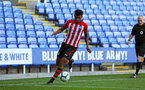 SOUTHAMPTON, ENGLAND - SEPTEMBER 29: Marcus Barnes (middle) during a PL2 U23s match where Reading FC play Southampton FC at Madjeski Stadium on September 29, 2018 in Reading, England. (Photo by James Bridle - Southampton FC/Southampton FC via Getty Images)