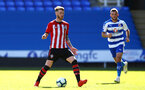 SOUTHAMPTON, ENGLAND - SEPTEMBER 29: Callum Slattery (Left) during a PL2 U23s match where Reading FC play Southampton FC at Madjeski Stadium on September 29, 2018 in Reading, England. (Photo by James Bridle - Southampton FC/Southampton FC via Getty Images)