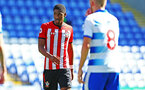 SOUTHAMPTON, ENGLAND - SEPTEMBER 29: Kayne Ramsay of Southampton FC  (left) during a PL2 U23s match where Reading FC play Southampton FC at Madjeski Stadium on September 29, 2018 in Reading, England. (Photo by James Bridle - Southampton FC/Southampton FC via Getty Images)