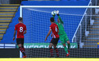 SOUTHAMPTON, ENGLAND - SEPTEMBER 29: Jack Rose makes a save for Southampton FC (right) during a PL2 U23s match where Reading FC play Southampton FC at Madjeski Stadium on September 29, 2018 in Reading, England. (Photo by James Bridle - Southampton FC/Southampton FC via Getty Images)