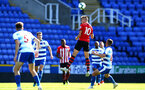 SOUTHAMPTON, ENGLAND - SEPTEMBER 29: Will Smallbone (middle) during a PL2 U23s match where Reading FC play Southampton FC at Madjeski Stadium on September 29, 2018 in Reading, England. (Photo by James Bridle - Southampton FC/Southampton FC via Getty Images)