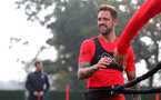 SOUTHAMPTON, ENGLAND - OCTOBER 05: Danny Ings during a Southampton FC training session at the Staplewood Campus on October 5, 2018 in Southampton, England. (Photo by Matt Watson/Southampton FC via Getty Images)