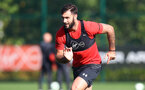 SOUTHAMPTON, ENGLAND - OCTOBER 09: Charlie Austin during a Southampton FC training session at the Staplewood Campus on October 9, 2018 in Southampton, England. (Photo by Matt Watson/Southampton FC via Getty Images)