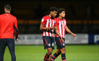 CAMBRIDGE, ENGLAND - OCTOBER 09: during the U21s Checkatade Trophy between Cambridge United and Southampton FC pictured at Abbey Stadium on October 9, 2018 in Cambridge, England. (Photo by James Bridle - Southampton FC/Southampton FC via Getty Images)