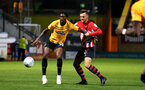 CAMBRIDGE, ENGLAND - OCTOBER 09: Harry Hamblin (right) during the U21s Checkatade Trophy between Cambridge United and Southampton FC pictured at Abbey Stadium on October 9, 2018 in Cambridge, England. (Photo by James Bridle - Southampton FC/Southampton FC via Getty Images)